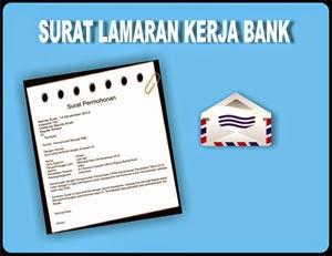 Gambar Contoh Surat Lamaran Kerja di Bank yang Baik benar dan profesional
