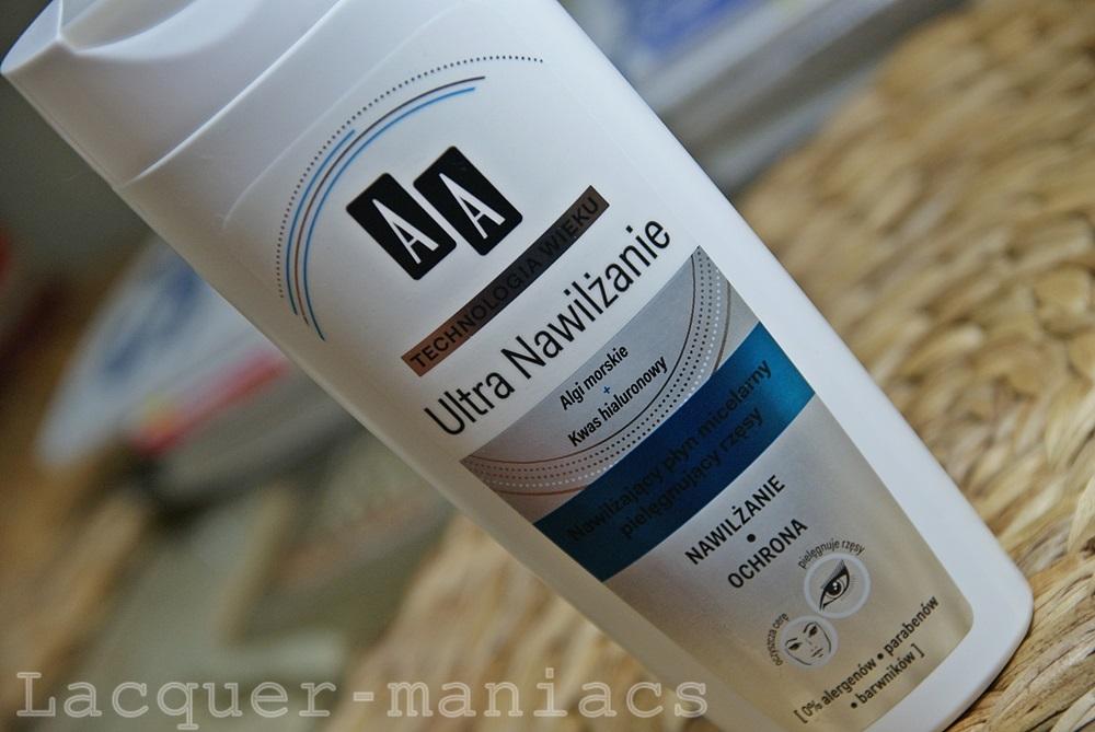 AA nawilżający płyn micelarny Ultra nawilżanie - kolejny ulubieniec?