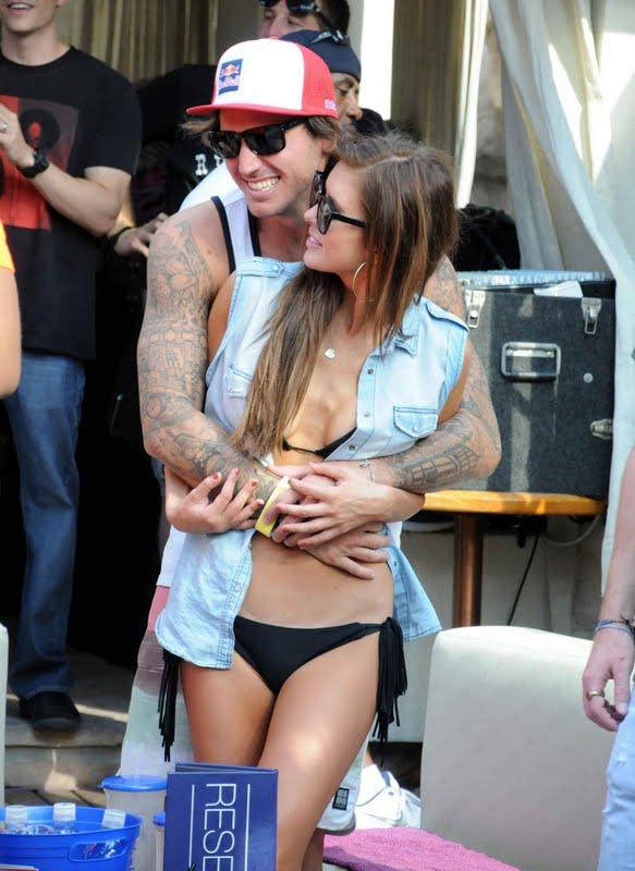 Audrina Patridge in Bikini at Hard Rock Hotel in Las Vegas