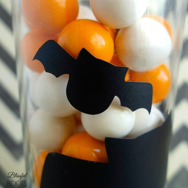 DIY Vinyl Halloween Glasses from Blissful Roots