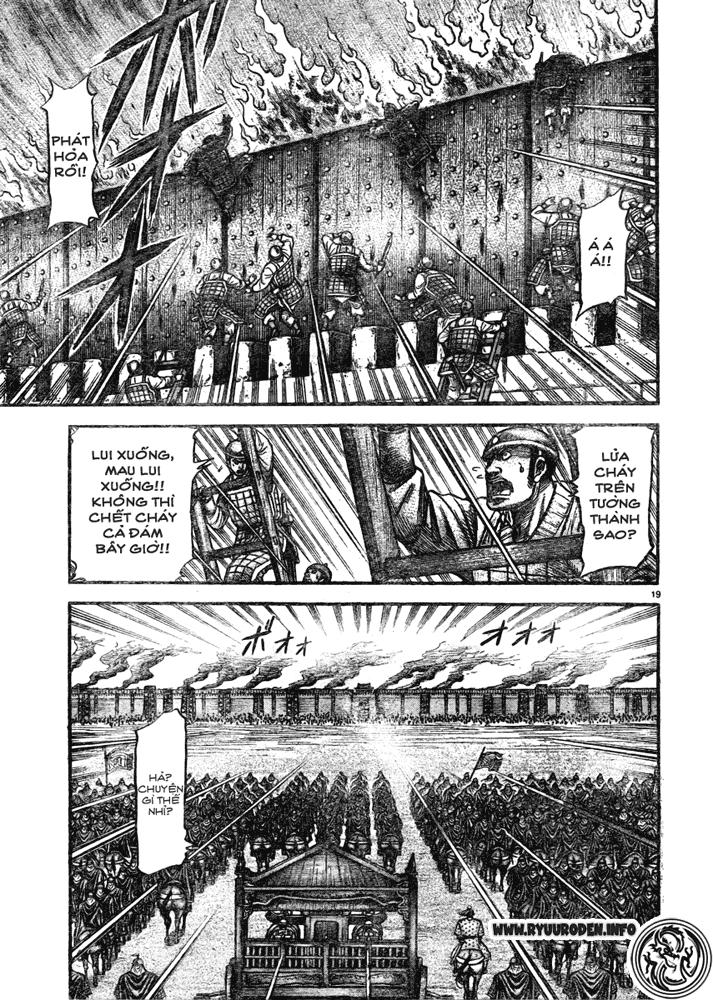 Chú Bé Rồng - Ryuuroden chap 181 - Trang 19