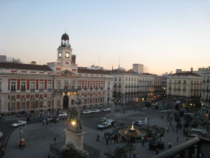 As cousas da clase madrid for Madrid puerta sol