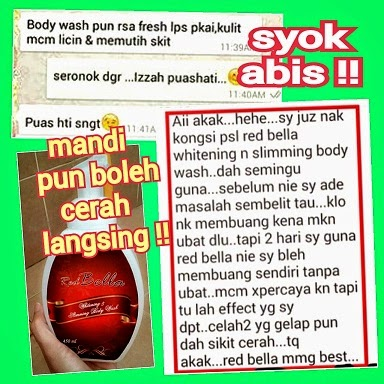 RED BELLA BODY WASH GEBU KURUS