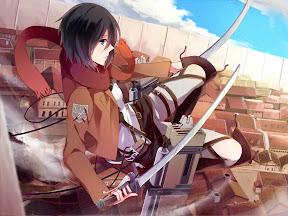 ATTACK ON TITAN! (Shingeki no Kyojin) Mikasa Ackermen