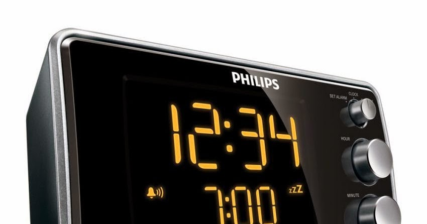 philips clock radio aj3551
