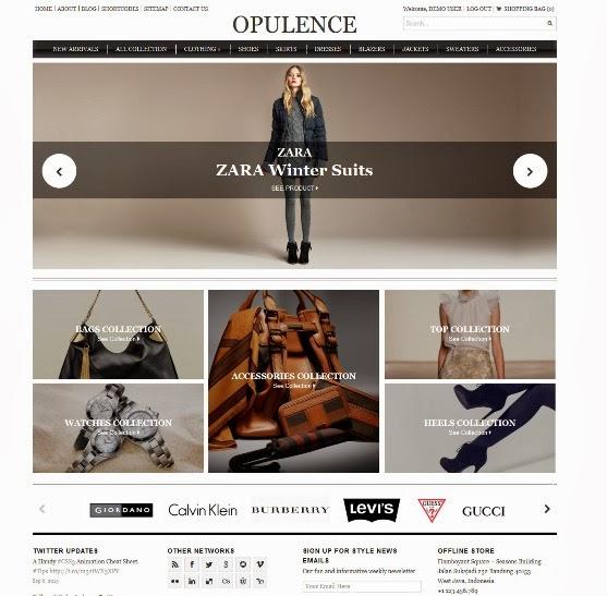 Opulence - Ecommerce Theme