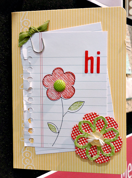 Bright + Cheery Hello Card