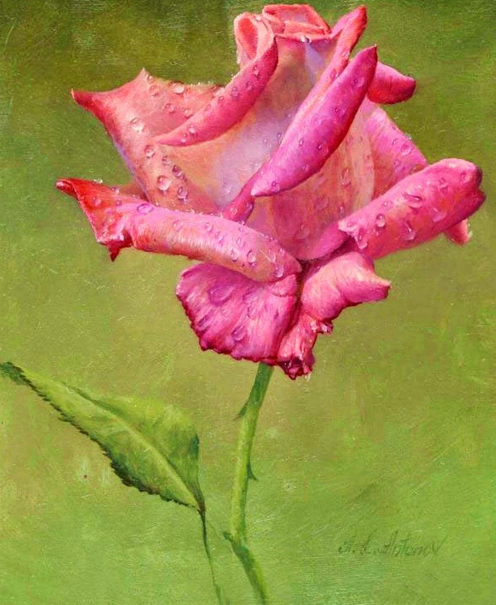 Fotos De Pintura De Flores - Como Pintar Flores Facebook