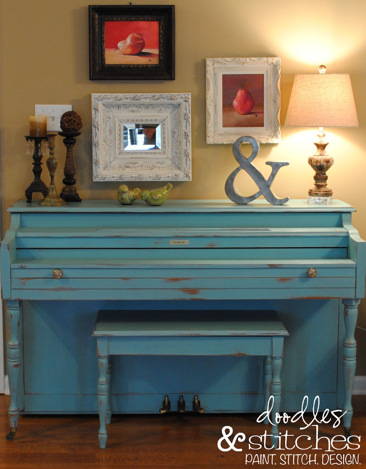Annie Sloan Chalk Paint Piano