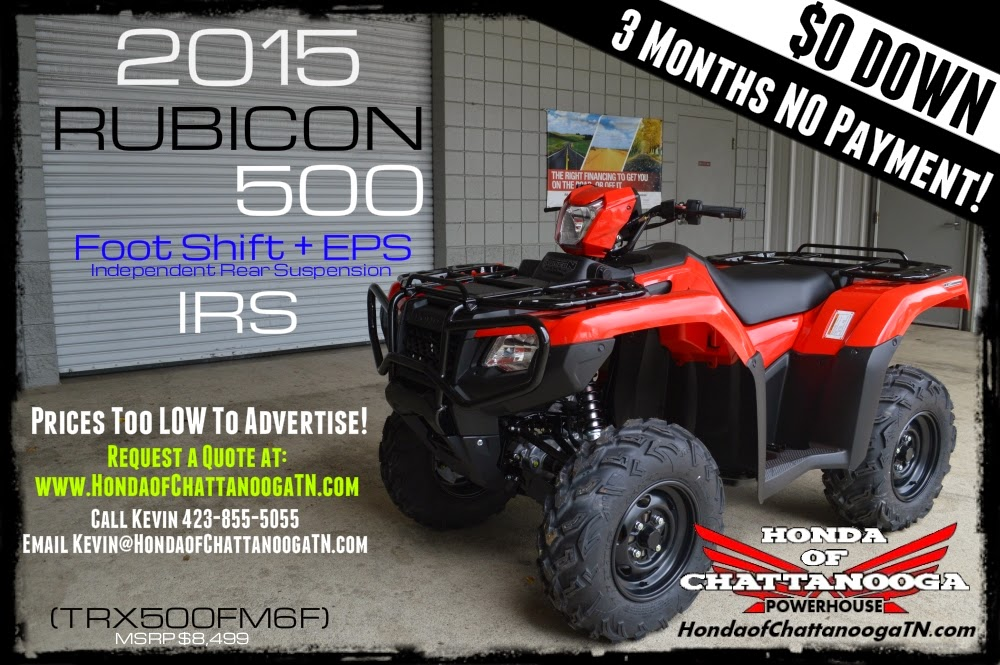 2015 TRX500FM6F Rubicon Foreman 500 Price For Sale TN GA AL