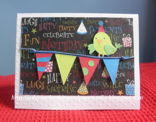 Judys Handmade Creations Birthday Card Challenges