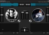 Siti con console giradischi per DJ