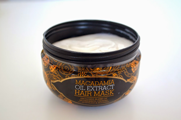 macadamia natural oil hair masque