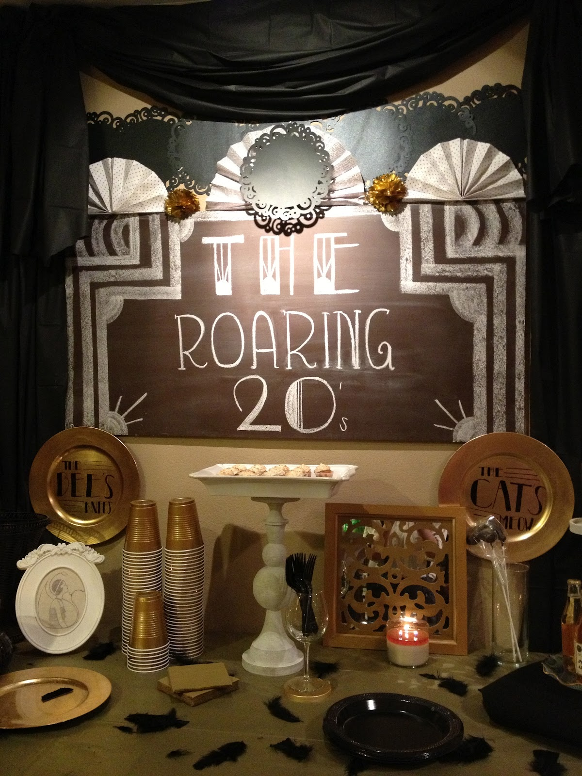 The vintage fern roaring 20 39 s party tips and ideas for 1920 party decoration ideas