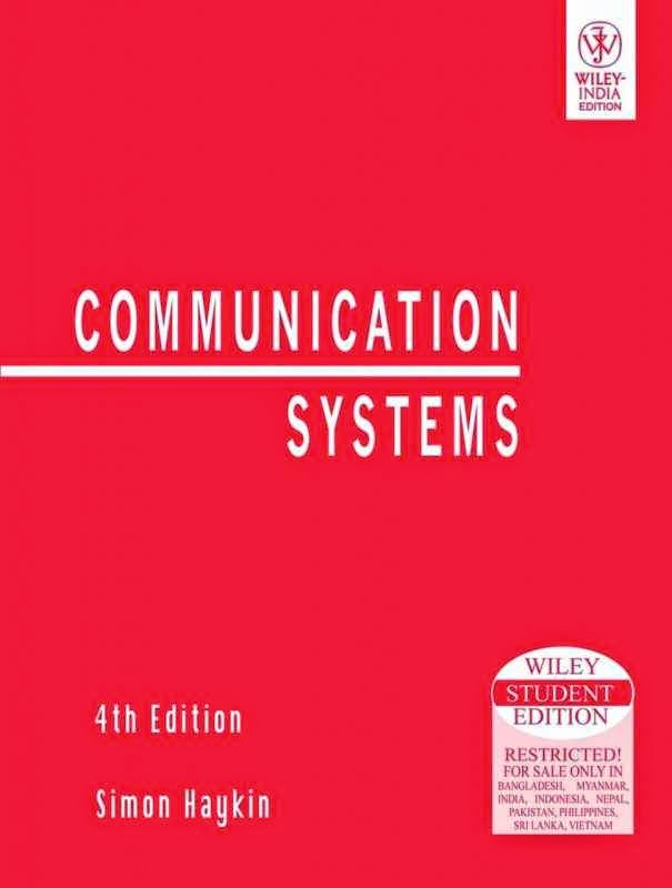 Communication system by simon haykin 4th edition pdf for Electrical motor controls for integrated systems 4th edition