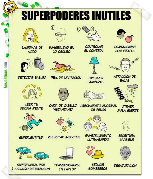 Chiste de Superpoderes Inútiles