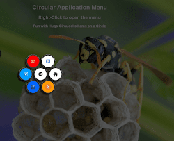 Circular-Application-Menu