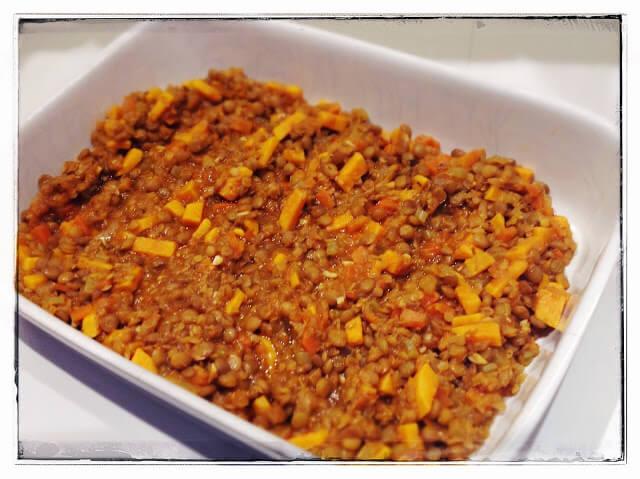 lentil-bake