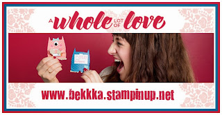 New Whole Lot of Love Stamps, Cards and Gift Packaging from Stampin' Up! Get yours at www.bekka.stampinup.net