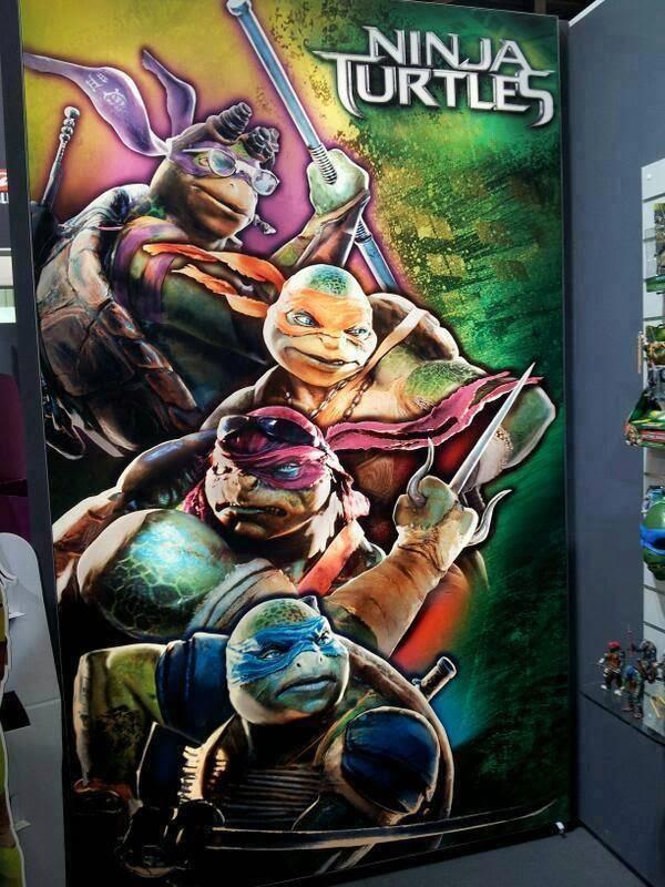 Tortugas Ninjas 2014 - poster