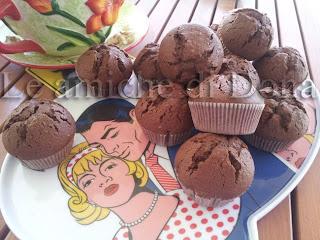 muffin di farro al cioccolato con sesamo e profumati alla birra extra stout