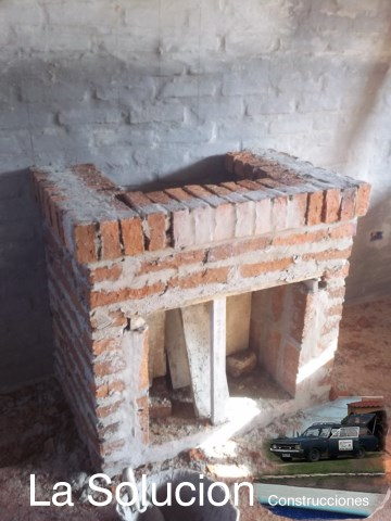 Estufas chimeneas y barbacoas for Construccion de chimeneas de lena