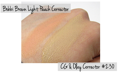 cover girl and olay simply ageless corrector swatches