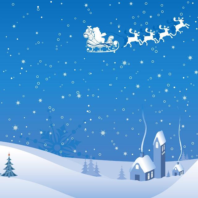 iPad Wallpapers: Free Download Christmas Scenery iPad mini ...