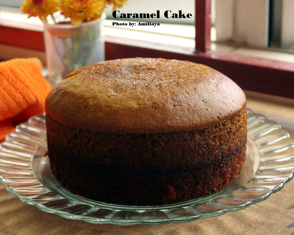 Steam Caramel Cake 蒸焦糖蛋糕