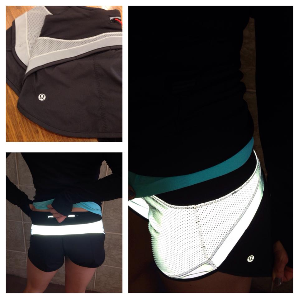 lululemon reflective speed shorts