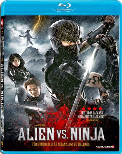 Alien vs Ninja 2010 Dual Audio Hindi-English 300mb BluRay 480p
