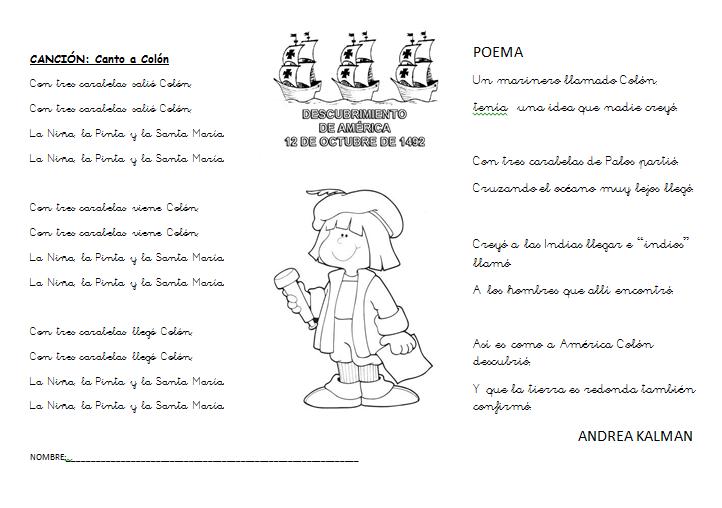 Poesia para niños de la familia - Imagui