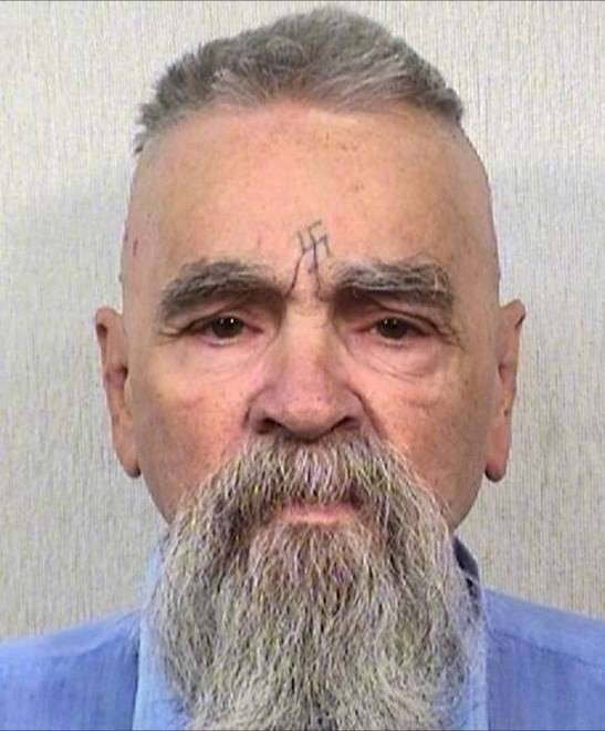 CHARLES MANSON: DEAD AT 83.