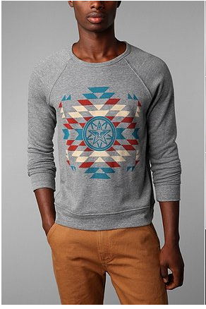 Navajo Nations Crew Pullover