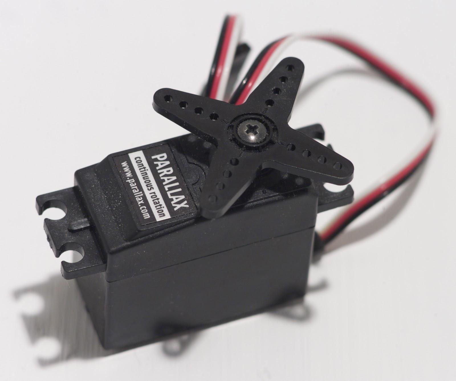 Paintbot Parts Servo Motor Continuous