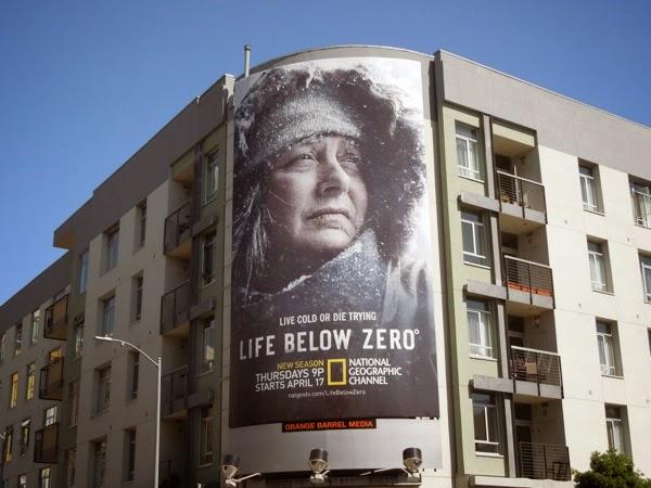 Life Below Zero season 3 billboard