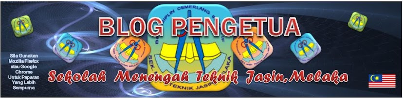 Blog Pengetua SMT Jasin