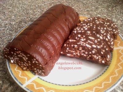 Chocito recept ( Edit-féle ), sütés nélküli sütemény, puffasztott rizsből.
