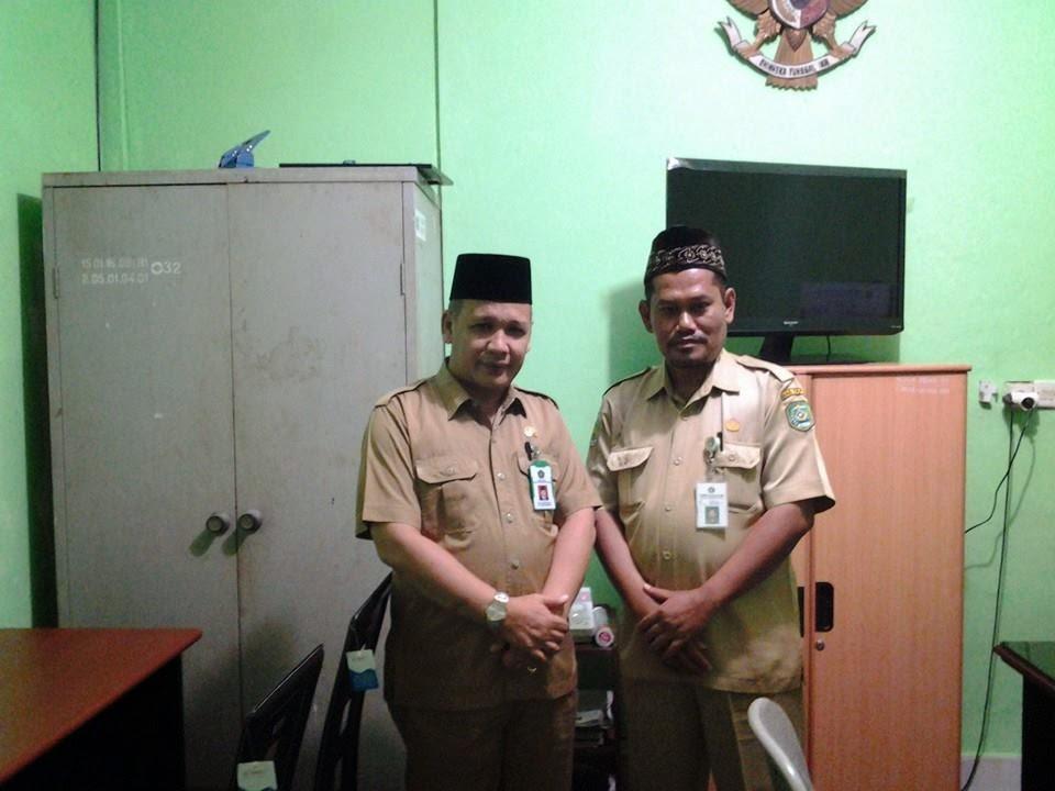 Foto Bersama Kabid Dikmad Kanwil Prov. Kalsel
