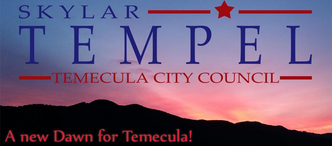 Tempel For Temecula City Council 2016