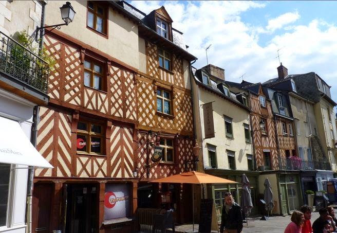 Rennes, Rue Pontegard.