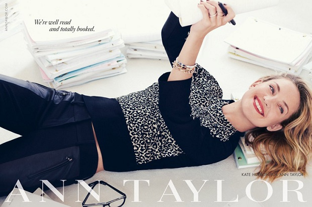 Ann Taylor Fall/Winter 2013 Campaign featuring Kate Hudson