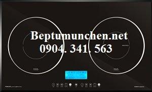 Bếp từ Munchen sử dụng mặt kính schottceran