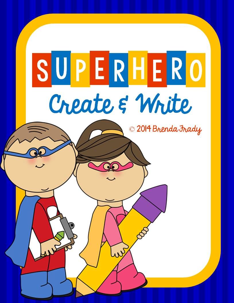 http://www.teacherspayteachers.com/Product/Create-Write-Superhero-1240569