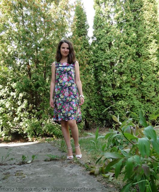 sukienka w kwiaty lato