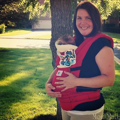 ErgoBaby Baby Carrier #BabyWearing #Baby #KeepThemClose #WearAllTheBabies