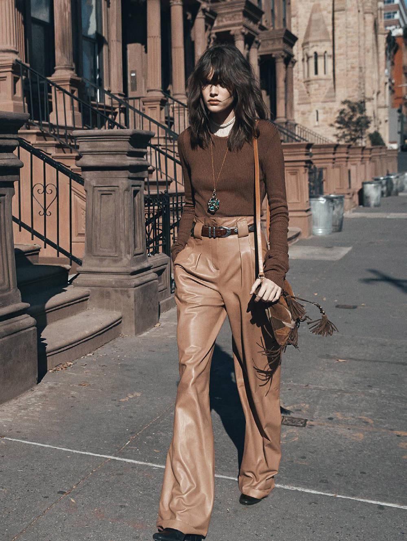 Vanessa Moody in Manhattan transfer / Miss Vogue / Vogue Paris February 2015 (photography: Lachlan Bailey, styling: Geraldine Saglio) | New York fashion editorials