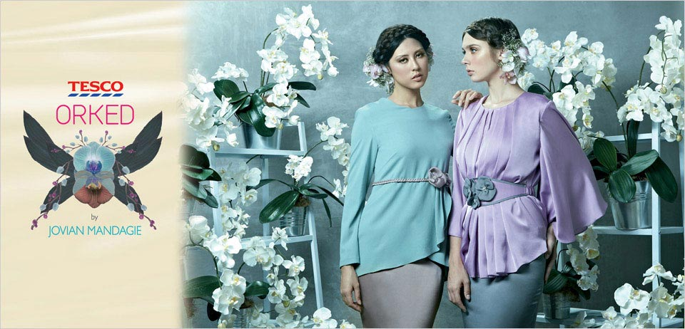 Fesyen Baju Raya Jovian Mandagie 2013