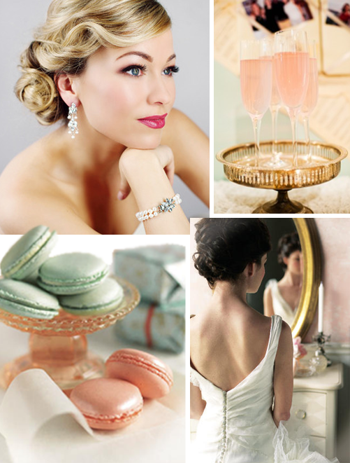 old hollywood glamour wedding hairstyles