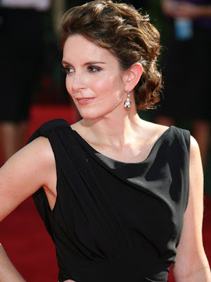 Tina Fey Sterling Dangle Earrings